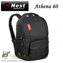NEST NT-60 Athena Professional Waterproof Backpack - Black